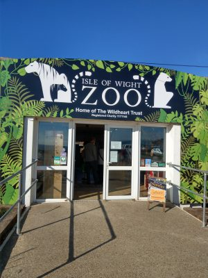 IOW Zoo entrance